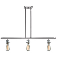 Innovations Lighting 516-3I-SN Signature 3 Light 42 inch Brushed Satin Nickel Island Light Ceiling Light