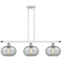 Innovations Lighting 516-3I-WPC-G247 Gorham 3 Light 36 inch White And Polished Chrome Island Light Ceiling Light Ballston