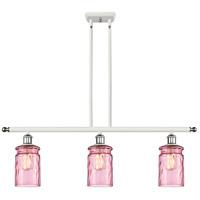 Innovations Lighting 516-3I-WPC-G352-LIL Candor 3 Light 36 inch White And Polished Chrome Island Light Ceiling Light Ballston