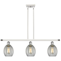Innovations Lighting 516-3I-WPC-G82-LED Eaton LED 36 inch White And Polished Chrome Island Light Ceiling Light Ballston