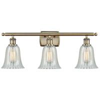 Innovations Lighting 516-3W-AB-G2811 Hanover 3 Light 26 inch Antique Brass Bath Vanity Light Wall Light Ballston