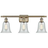 Innovations Lighting 516-3W-AB-G2812 Hanover 3 Light 26 inch Antique Brass Bath Vanity Light Wall Light Ballston