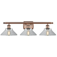 Antique Copper Orwell Bathroom Vanity Lights