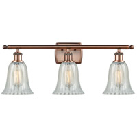 Antique Copper Hanover Bathroom Vanity Lights