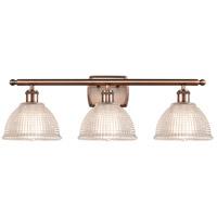 Innovations Lighting 516-3W-AC-G422-LED Arietta LED 26 inch Antique Copper Bath Vanity Light Wall Light Ballston