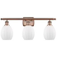 Innovations Lighting 516-3W-AC-G81 Eaton 3 Light 26 inch Antique Copper Bath Vanity Light Wall Light Ballston