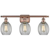 Innovations Lighting 516-3W-AC-G82-LED Eaton LED 26 inch Antique Copper Bath Vanity Light Wall Light Ballston