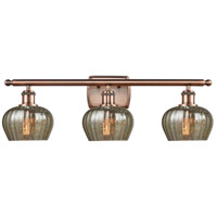 Innovations Lighting 516-3W-AC-G96-LED Fenton LED 26 inch Antique Copper Bath Vanity Light Wall Light Ballston