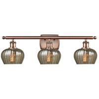 Innovations Lighting 516-3W-AC-G96 Fenton 3 Light 26 inch Antique Copper Bath Vanity Light Wall Light Ballston