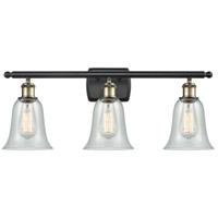 Innovations Lighting 516-3W-BAB-G2812 Hanover 3 Light 26 inch Black Antique Brass Bath Vanity Light Wall Light Ballston