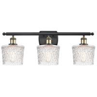 Innovations Lighting 516-3W-BAB-G402-LED Niagra LED 26 inch Black Antique Brass Bath Vanity Light Wall Light Ballston
