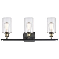 Innovations Lighting 516-3W-BAB-G802 Clymer 3 Light 26 inch Black Antique Brass Bath Vanity Light Wall Light, Ballston alternative photo thumbnail