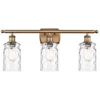 Innovations Lighting 516-3W-BB-G352-LED Candor LED 26 inch Brushed Brass Bath Vanity Light Wall Light Ballston