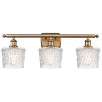 Innovations Lighting 516-3W-BB-G402-LED Niagra LED 26 inch Brushed Brass Bath Vanity Light Wall Light Ballston