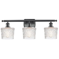 Innovations Lighting 516-3W-BK-G402 Niagra 3 Light 26 inch Matte Black Bath Vanity Light Wall Light Ballston