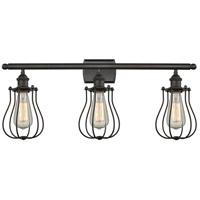 Innovations Lighting 516-3W-OB-513-LED Barrington LED 26 inch Oil Rubbed Bronze Bath Vanity Light Wall Light Austere