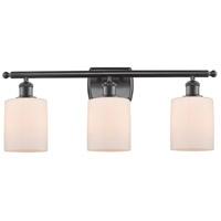 Innovations Lighting 516-3W-OB-G111 Cobbleskill 3 Light 26 inch Oil Rubbed Bronze Bath Vanity Light Wall Light, Ballston