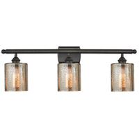 Cobbleskill LED 26 inch Oil Rubbed Bronze Bathroom Fixture Wall Light