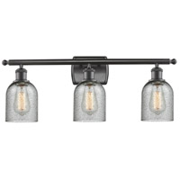 Innovations Lighting 516-3W-OB-G257-LED Caledonia LED 26 inch Oil Rubbed Bronze Bathroom Fixture Wall Light