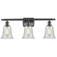 Innovations Lighting 516-3W-OB-G2812 Hanover 3 Light 26 inch Oil Rubbed Bronze Bath Vanity Light Wall Light Ballston
