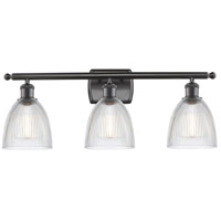 Innovations Lighting 516-3W-OB-G382-LED Castile LED 26 inch Oil Rubbed Bronze Bath Vanity Light Wall Light Ballston