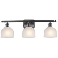 Innovations Lighting 516-3W-OB-G411-LED Dayton LED 26 inch Oil Rubbed Bronze Bath Vanity Light Wall Light Ballston