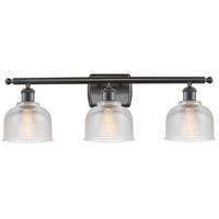 Innovations Lighting 516-3W-OB-G412-LED Dayton LED 26 inch Oil Rubbed Bronze Bath Vanity Light Wall Light Ballston