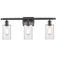 Innovations Lighting 516-3W-OB-G802 Clymer 3 Light 26 inch Oil Rubbed Bronze Bath Vanity Light Wall Light Ballston