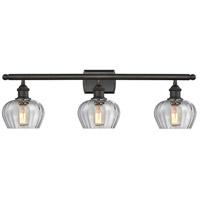 Innovations Lighting 516-3W-OB-G92-LED Fenton LED 26 inch Oil Rubbed Bronze Bathroom Fixture Wall Light