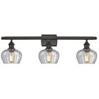 Innovations Lighting 516-3W-OB-G92 Fenton 3 Light 26 inch Oiled Rubbed Bronze Bathroom Fixture Wall Light