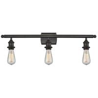 Innovations Lighting 516-3W-OB-LED Bare Bulb LED 26 inch Oil Rubbed Bronze Bath Vanity Light Wall Light Ballston