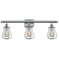 Innovations Lighting 516-3W-PC-513-LED Barrington LED 26 inch Polished Chrome Bathroom Fixture Wall Light