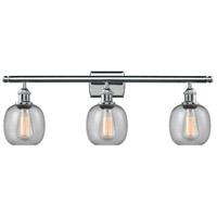 Innovations Lighting 516-3W-PC-G104-LED Belfast LED 26 inch Polished Chrome Bath Vanity Light Wall Light Ballston