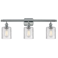 Cobbleskill LED 26 inch Polished Chrome Bathroom Fixture Wall Light