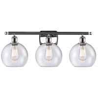 Innovations Lighting 516-3W-PC-G124 Athens 3 Light 26 inch Polished Chrome Bath Vanity Light Wall Light Ballston