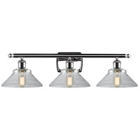Innovations Lighting 516-3W-PC-G132 Disc 3 Light 26 inch Polished Chrome Vanity Light Wall Light