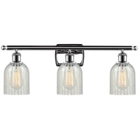 Polished Chrome Caledonia Bathroom Vanity Lights