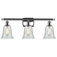 Innovations Lighting 516-3W-PC-G2812-LED Hanover LED 26 inch Polished Chrome Bath Vanity Light Wall Light Ballston