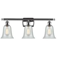 Innovations Lighting 516-3W-PC-G2812 Hanover 3 Light 26 inch Polished Chrome Bath Vanity Light Wall Light Ballston