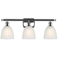 Innovations Lighting 516-3W-PC-G381-LED Castile LED 26 inch Polished Chrome Bath Vanity Light Wall Light Ballston
