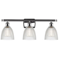 Innovations Lighting 516-3W-PC-G382-LED Castile LED 26 inch Polished Chrome Bath Vanity Light Wall Light Ballston