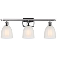 Polished Chrome Brookfield Bathroom Vanity Lights