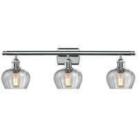 Innovations Lighting 516-3W-PC-G92-LED Fenton LED 26 inch Polished Chrome Bath Vanity Light Wall Light Ballston