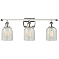 Polished Nickel Caledonia Bathroom Vanity Lights