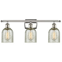 Innovations Lighting 516-3W-PN-G259-LED Caledonia LED 26 inch Polished Nickel Bath Vanity Light Wall Light, Ballston