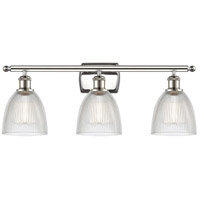 Innovations Lighting 516-3W-PN-G382 Castile 3 Light 26 inch Polished Nickel Bath Vanity Light Wall Light Ballston