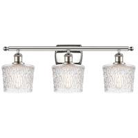 Innovations Lighting 516-3W-PN-G402 Niagra 3 Light 26 inch Polished Nickel Bath Vanity Light Wall Light Ballston