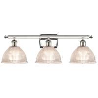 Innovations Lighting 516-3W-PN-G422-LED Arietta LED 26 inch Polished Nickel Bath Vanity Light Wall Light Ballston