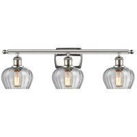 Innovations Lighting 516-3W-PN-G92 Fenton 3 Light 26 inch Polished Nickel Bath Vanity Light Wall Light Ballston