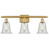 Innovations Lighting 516-3W-SG-G2812-LED Hanover LED 26 inch Satin Gold Bath Vanity Light Wall Light Ballston